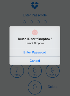 False Sense of Security of Dropbox's Passcode Protection